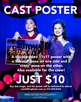 BA Guys and Dolls Cast Poster