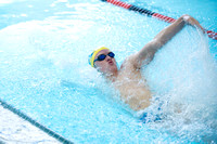 BA Boys Swimming Sectionals 2014-5